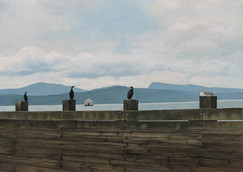 Waiting for the Ferry, Pender Island