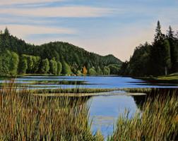 Magic Lake, Pender Island