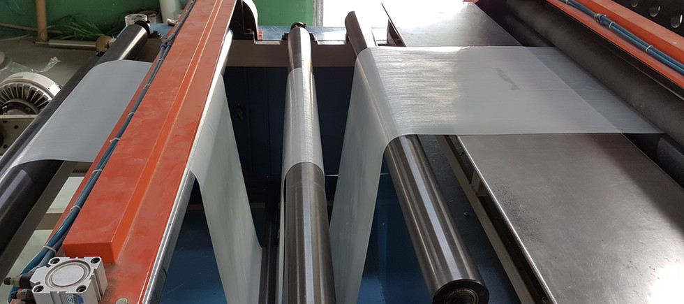 UD tape production line