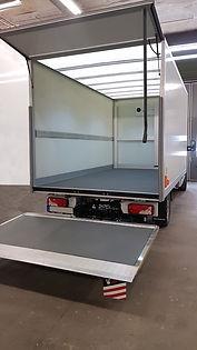 "EXTREME™ Panels Series for trucks cargo box.  Innovation & Technology Advanced Composite  Smart ""Bundled-Technologies"" empower development of innovational for trucks cargo box"