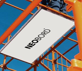 orange-metal-framework-scaffolding-system-with-white-composite-scaffold-board-NEOBORD-platform-in-aluminum-U-Frame