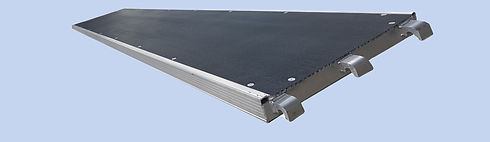 NEOBORD™ Composite Scaffold Boards in  Aluminum U-Frame insert