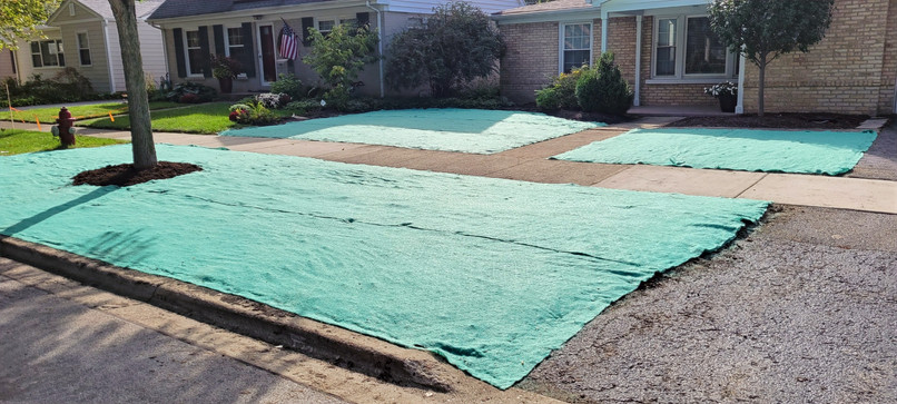 New Front Yard Lawn by Seed - Pacocha Landscaping Services