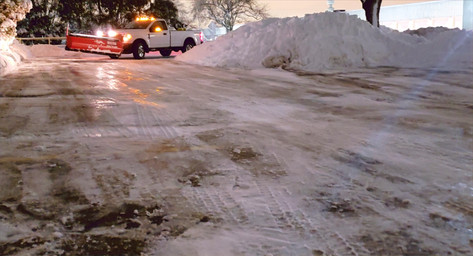 Industrial Parking Lot Snow Plowing - Pacocha Landscaping Services