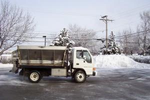 Pacocha - Stainless Steel V Box Salt Spreader Truck