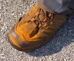 Pacocha - Lawn Rust on Shoe