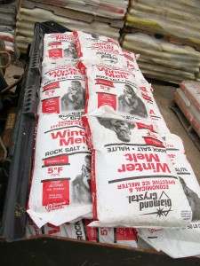 Pacocha - Bagged Salt to Equal 1 Ton - 40 Bags of 50 pound salt bags Full