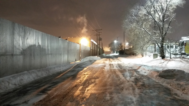 Industrial Snow Plowing - Pacocha Landscaping Services