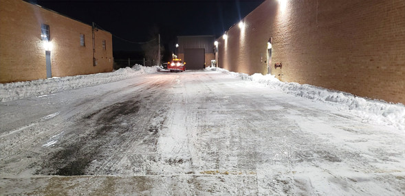 Industrial Snow Removal Services - Pacocha Landscaping Services