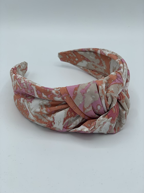 Maxi Knot Headband Pink