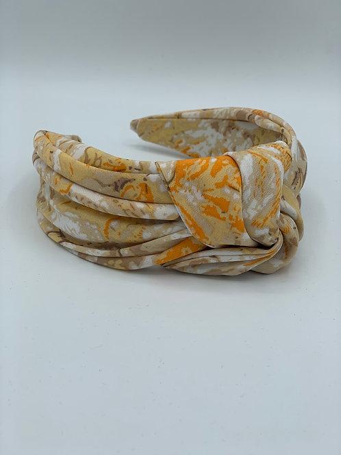 Maxi Knot Headband Yellow