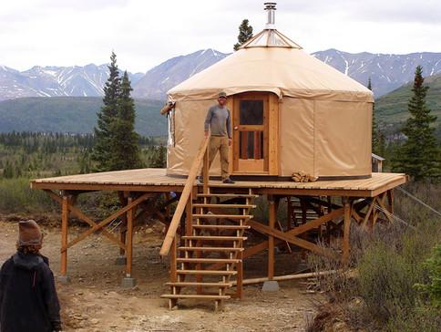 16' Yurt Near Denali State Park