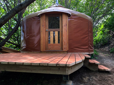 16' Yurt With Deck