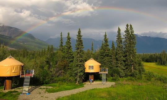 16' Yurts On Risers