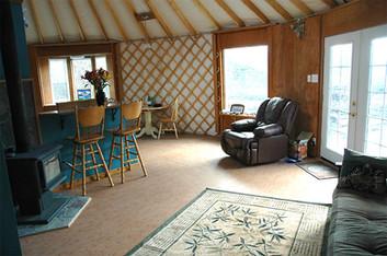 30' Yurt Interior 2