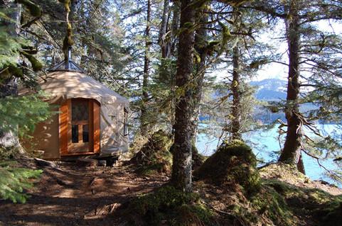 16' Kachemak Bay Camp Yurt