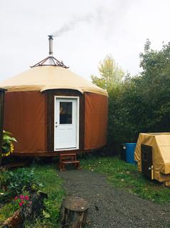 20' Yurt With Custom Details