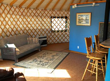 30' Yurt Interior