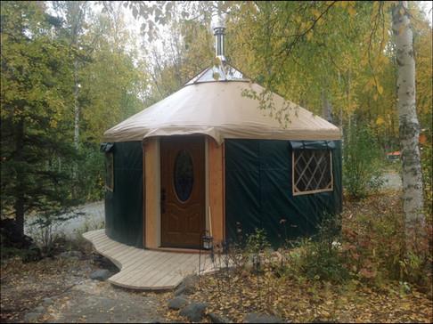 16' Green Yurt