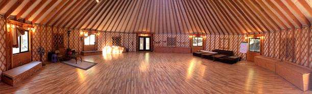 50' Yurt Interior