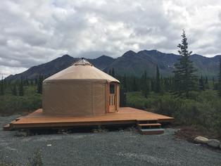 "Cantwell ""Experience Alaska"" Yurt 1"
