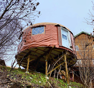 20' Yurt On Posts