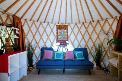 16' Serene Yurt Interior