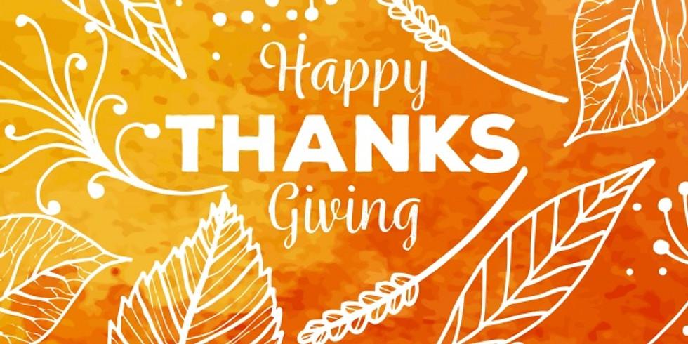 Reagan Park Thanksgiving Outreach