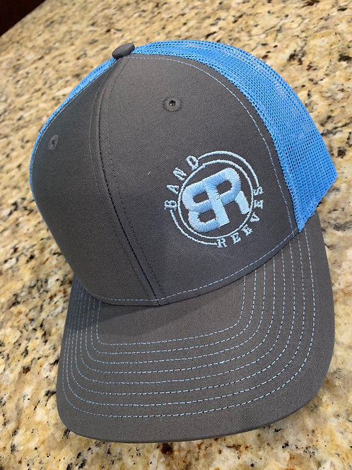 Band Reeves Logo Hat Columbia Blue