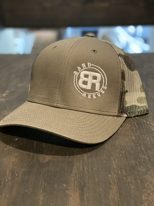 Band Reeves Logo Hat Light Brown/Camo