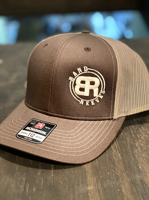 Band Reeves Logo Hat- brown/cream