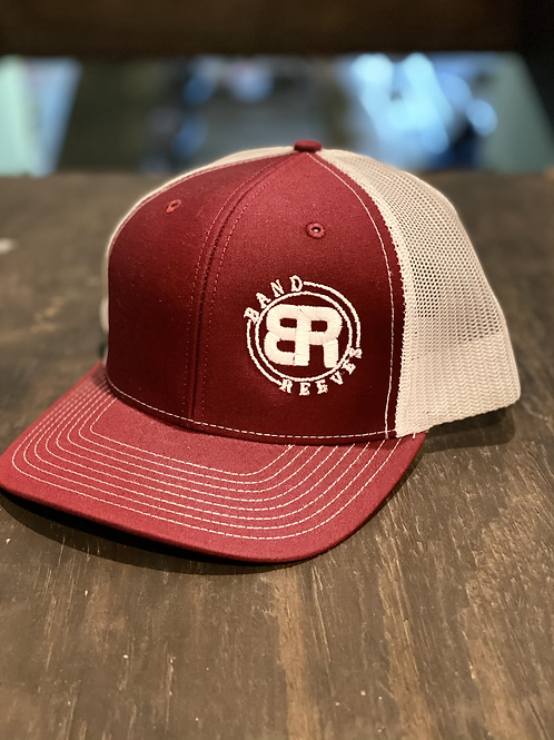 Band Reeves Logo Hat Maroon/White