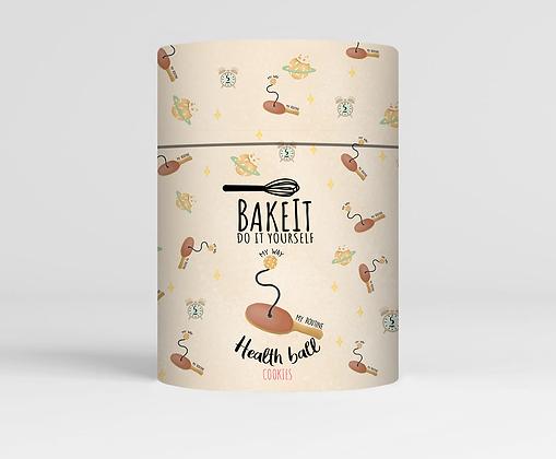 """תערובת להכנת כדורי בריאות מתוקים """"BakeIt"""""""