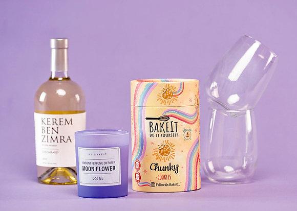 Wine pleasure gift box