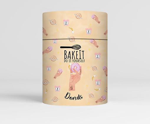 """תערובת להכנת דונאטס """"BakeIt"""""""