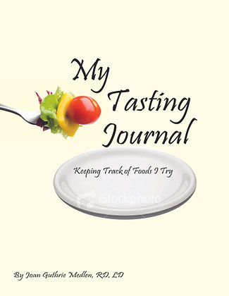 My Tasting Journal: Keeping Track of Foods I Try