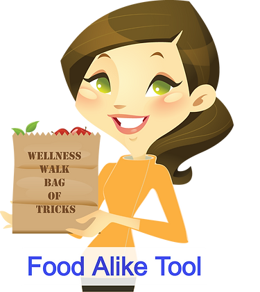 Food Alike Worksheet - English