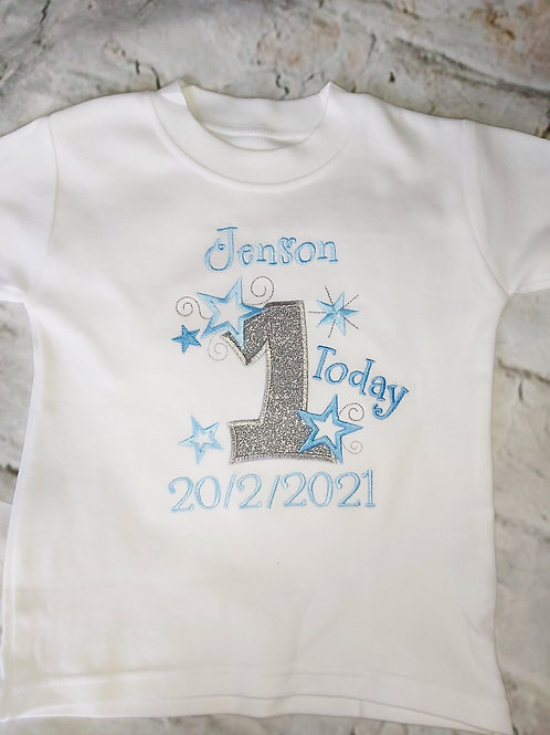 1ST 2ND 3RD 4TH BIRTHDAY T SHIRTS