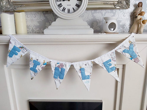 NAME FLAG BUNTING SOLD PER FLAG