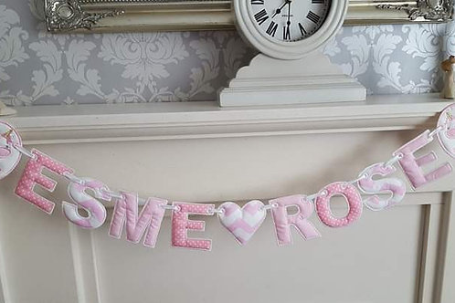 UNICORN NAME BUNTING