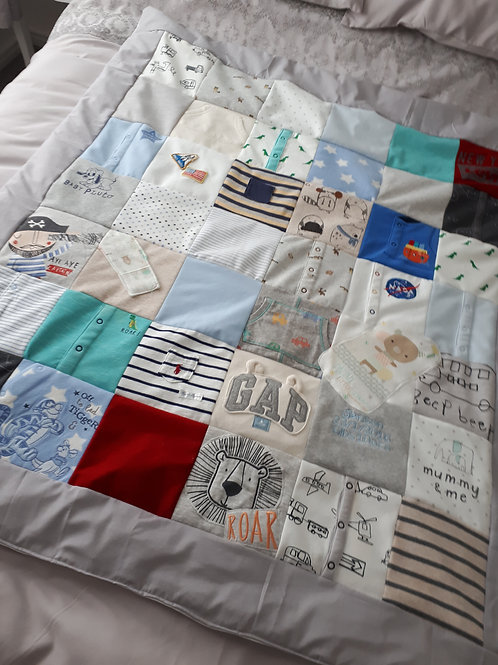 KEEPSAKE QUILT COT/COTBED SIZE