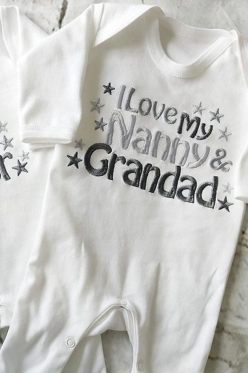 I LOVE MY NANA NANNY GRANDAD POPS