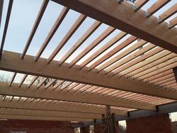 dakwerken school Gentbrugge - aanvang werken4