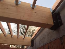 dakwerken school Gentbrugge - aanvang werken5