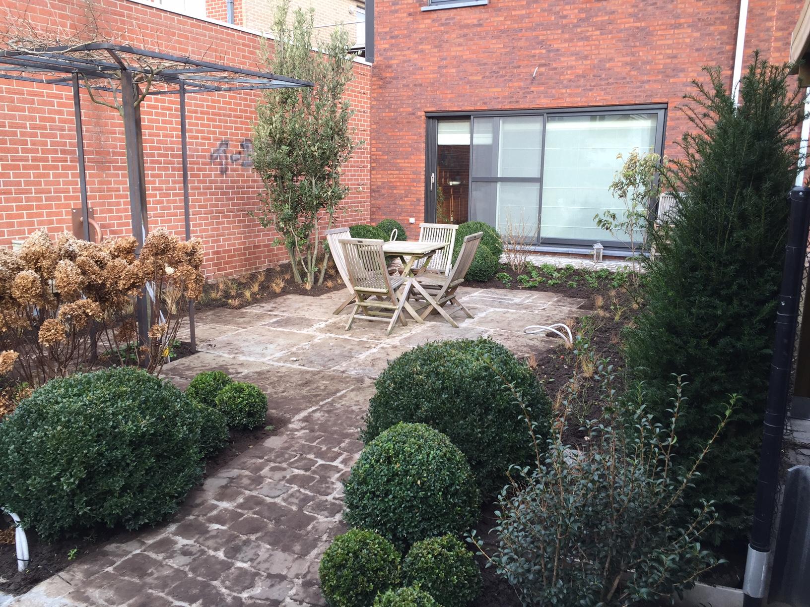 Aanleg tuin Avelgem (2)