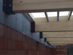 dakwerken school Gentbrugge - aanvang werken6