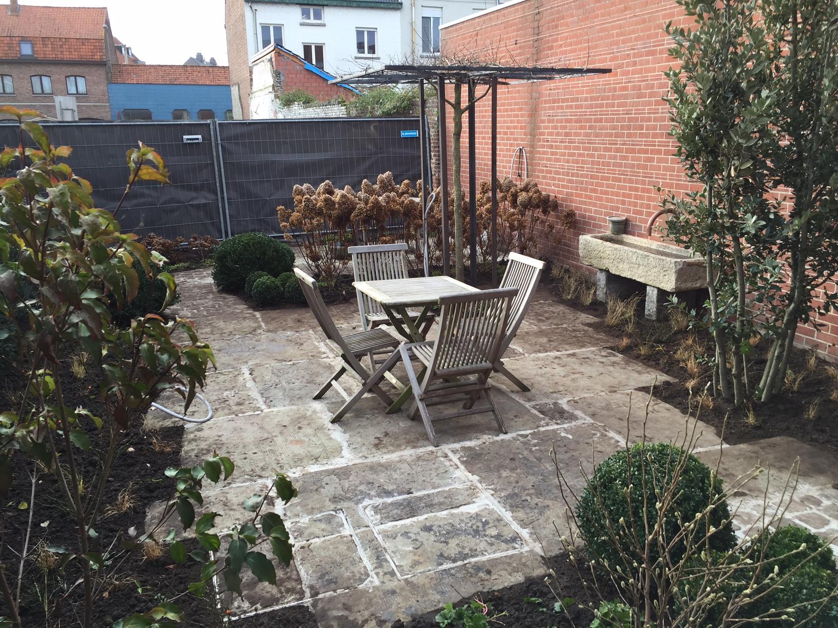 Aanleg tuin Avelgem (3)