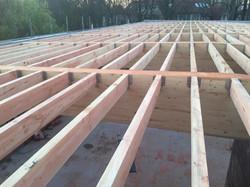 dakwerken school Gentbrugge - aanvang werken7