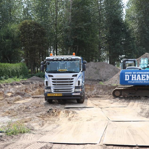 Wegeniswerken | Grondwerken | D'Haene