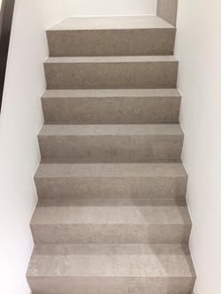 Uitbekleden van trappen